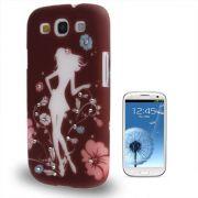 Capa Personalizada Garota Fashion com Strass para Samsung Galaxy S3 S III i9300