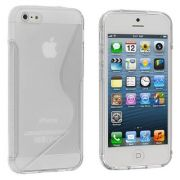 Capa de TPU S-Line Premium para Apple iPhone 5 - Cor Transparente