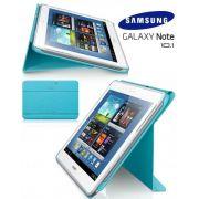 Capa estojo com suporte para Samsung Galaxy Note 10.1 N8000 - Samsung EFC-1G2NLECSTD - Cor Azul Clara