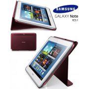Capa estojo com suporte para Samsung Galaxy Note 10.1 N8000 - Samsung EFC-1G2NRECSTD - Cor Vermelha
