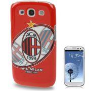 Capa Personalizada série Time AC Milan para Samsung Galaxy S3 S III i9300