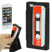 Capa Personalizada Fita Cassete para Apple iPhone 5 - Preto