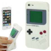Capa Retro Gameboy para Apple iPhone 5 - Branco