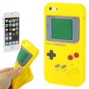 Capa Retro Gameboy para Apple iPhone 5 - Amarelo