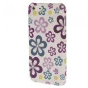 Capa Personalizada Flores com Strass para Apple iPhone 5