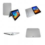 Capa Rígida Book estojo para Samsung Galaxy Note 10.1 N8000 / N8100 - Cor Cinza