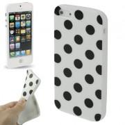 Capa Personalizada Bolinhas para Apple iPhone 5 - Branca