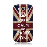 Capa personalizada Keep Calm and Carry Inglaterra para Samsung Galaxy Grand Duos I9082