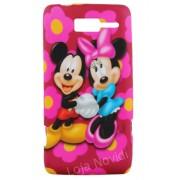 Capa personalizada Mickey e Minnie para Motorola Razr i XT890
