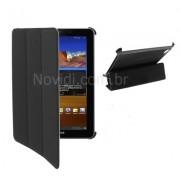 Capa Smart Cover para Galaxy Tab 7.7 GT-P6800 - Cor Preta