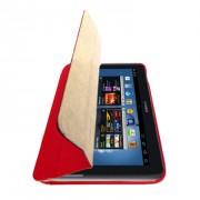 Capa Smart Cover Dobrável para Samsung Galaxy Note 10.1 N8000 / N8100 - Vermelha