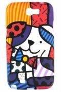 Capa personalizada Romero Britto para Samsung Galaxy Note 2 GT-N7100