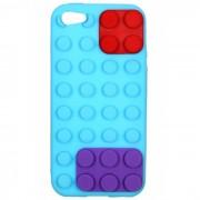 Capa Lego para Apple iPhone 5 - Azul Claro