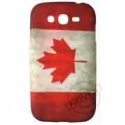 Capa Personalizada Bandeira Envelhecida Canadá para Samsung Galaxy Grand Duos I9082