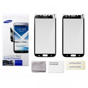 kit 2 Pel�culas Protetora Galaxy Note 2 N7100 - Original Samsung - Bordas Preta