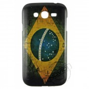 Capa Personalizada Bandeira Envelhecida Brasil para Samsung Galaxy Grand Duos I9082