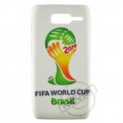 Capa Personalizada Fifa World Cup Brasil para Motorola Razr D1 XT916 / XT918