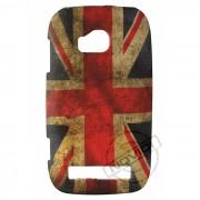 Capa Personalizada Bandeira Envelhecida Inglaterra para Nokia Lumia 710