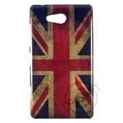 Capa Personalizada Bandeira Envelhecida Inglaterra para Nokia Lumia 820