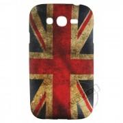 Capa Personalizada Bandeira envelhecida Inglaterra para Samsung Galaxy Grand Duos I9082