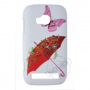 Capa Personalizada  Guarda-chuva com Strass para Nokia Lumia 710