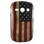 Capa Rígida Bandeira Envelhecida EUA para Galaxy Fame