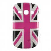 Capa Rígida Bandeira da Inglaterra para Galaxy Fame - Cor Rosa e Preta