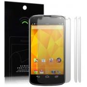 Kit com 2 Películas protetora Pro transparente para LG Nexus 4