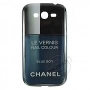 Capa Personalizada Chanel Le Vernis Blue Boy para Samsung Galaxy Grand Duos I9082