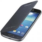 Capa em couro flip para Samsung Galaxy S4 Mini - Original Samsung - Cor Preta