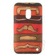 Capa Personalizada Moustache para Nokia Lumia 620