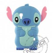 Capa Desenho Animado Stitch 3D para LG Optimus L5 II Dual E455 - Cor Azul Claro