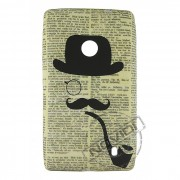 Capa Personalizada Moustache Cachimbo para Nokia Lumia 520