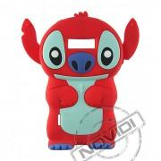 Capa Desenho Animado Stitch 3D para LG Optimus L7 - Cor Vermelho