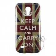 Capa Personalizada Keep Calm And Carry On para Samsung Galaxy S4 Mini Duos