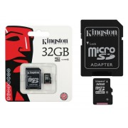 Cartão de Memória Micro SD 32GB Ultra Clase 10 - Kingston