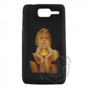 Capa Personalizada Perfume Pour Femme para Motorola Razr D1 XT916/XT918