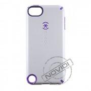 Capa Speck CandyShell Séries para Apple iPod touch 5G - Cor Branca/Roxa