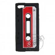 Capa Personalizada Fita Cassete para Apple Ipod Touch 4 - Cor Preta