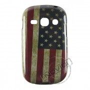 Capa Personalizada Bandeira Envelhecida USA para Galaxy Fame