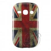 Capa Personalizada Bandeira Envelhecida Inglaterra para Galaxy Fame