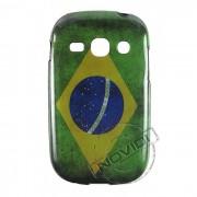 Capa Personalizada Bandeira Brasil para Galaxy Fame