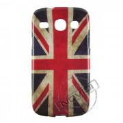 Capa Bandeira da Inglaterra Envelhecida para Samsung Galaxy SIII Duos GT I8260