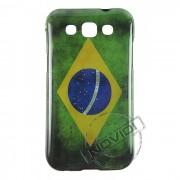 Capa Personalizada Bandeira do Brasil Envelhecida para Samsung Galaxy Win Duos I8552