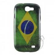 Capa Personalizada Bandeira do Brasil Envelhecida para Samsung Galaxy Express I8730