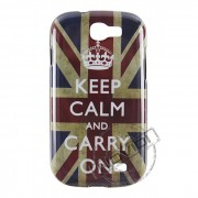 Capa Personalizada Keep Calm and Carry On UK para Samsung Galaxy Express I8730