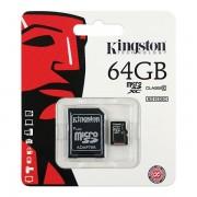 Cartão de Memória Micro SD Android 64GB  - Classe 10 - Kingston