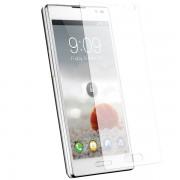 Kit com 2 Películas transparente lisa protetor de tela para LG Optimus L9 P768