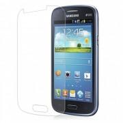 Kit com 2 Películas transparente lisa protetor de tela para Samsung Galaxy I8262D