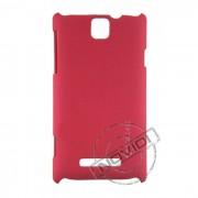 Capa Rígida para o Sony Xperia E - Cor Rosa Escuro